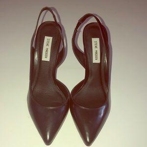 Steve Madden sammmy leather heel